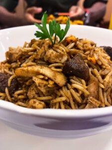 Suya fried rice