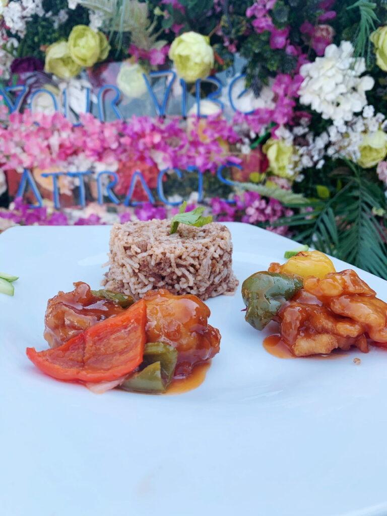 Oriental rice at tribe afrik