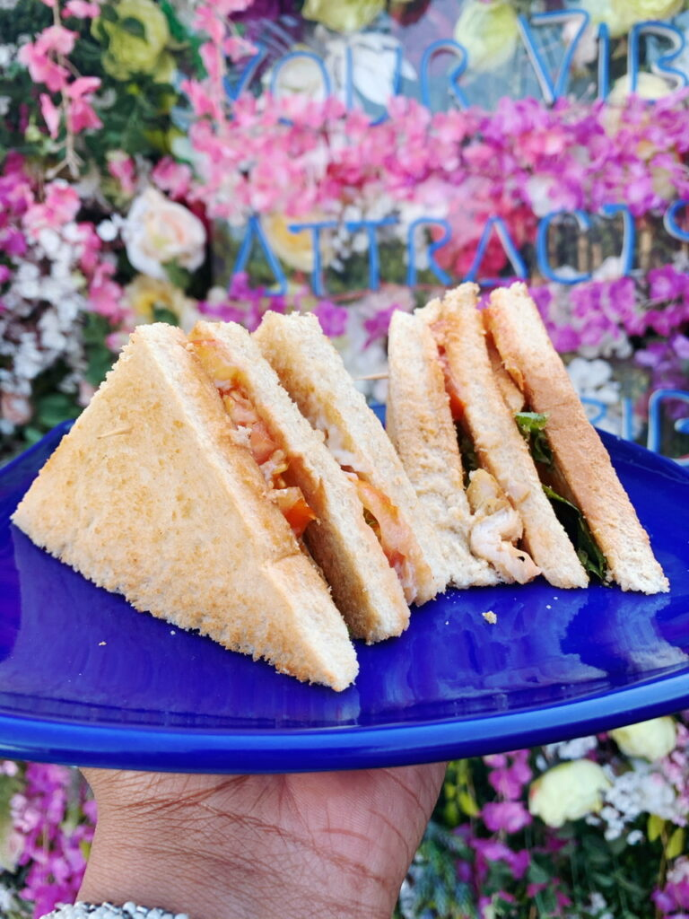 Club sandwich at Tribe Afrik