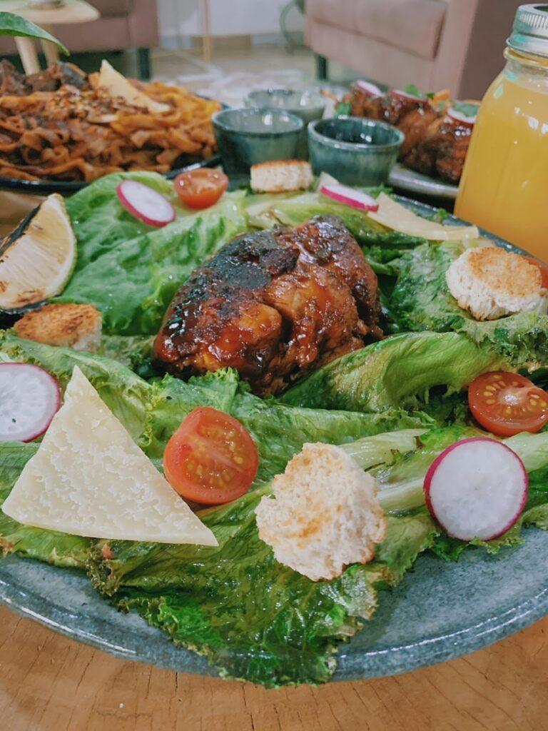 Chicken salad at Strobrie Abuja