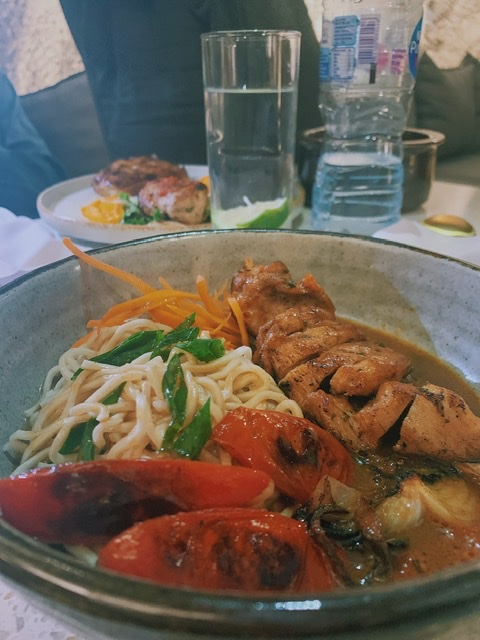 Ramen noodles at kapadoccia cave restaurant