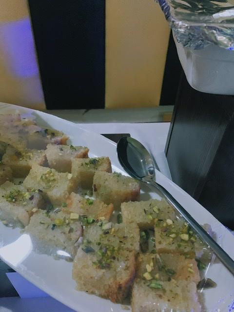 Basabusa at sabroso restaurant