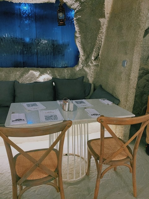 Kapadoccia the cave restaurant